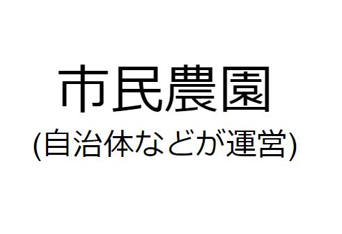 市民農園ロゴ