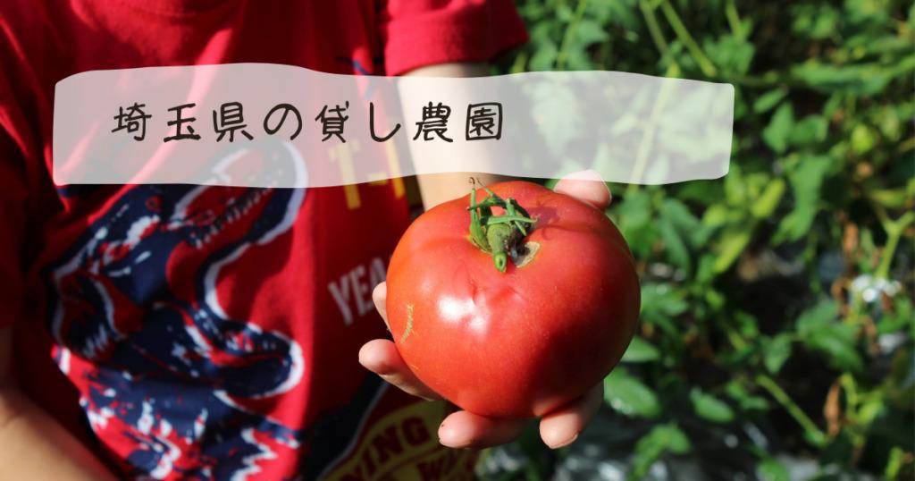 埼玉県 貸し農園
